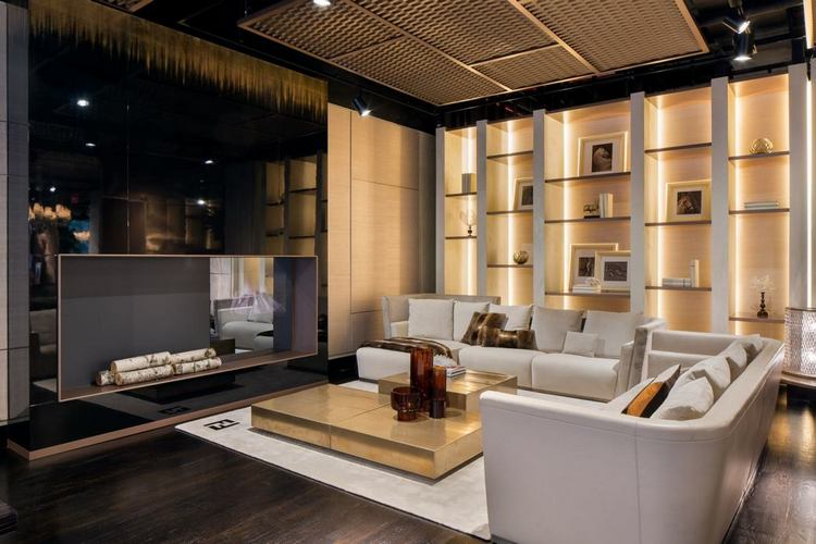 Fendi Casa opens a new showroom in the heart of Manhattan