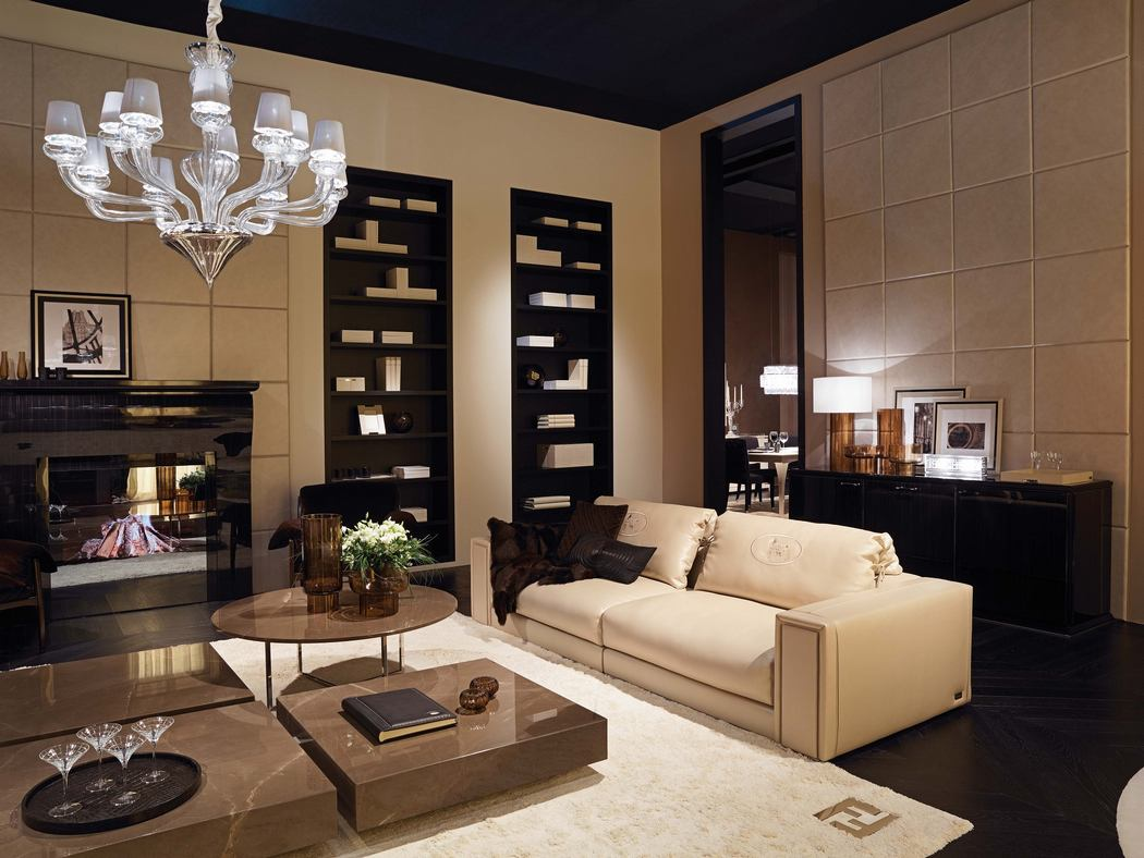 Fendi casa opens a new showroom in the heart of manhattan for Casa interior