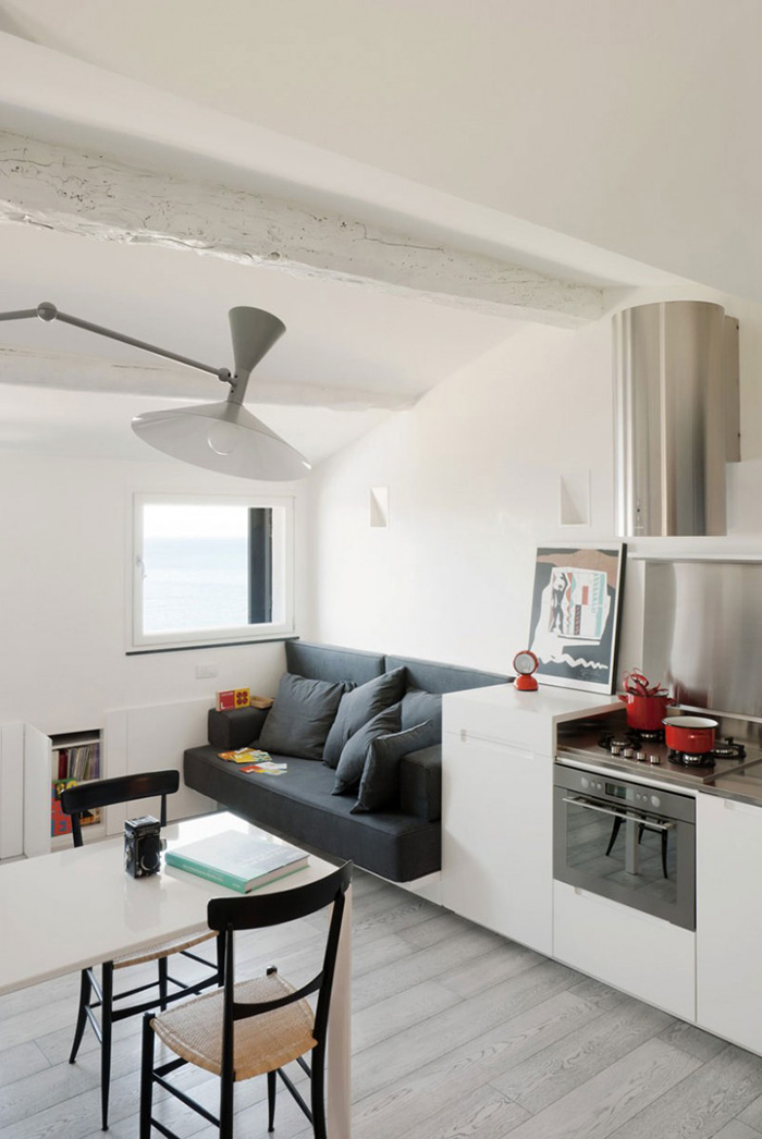 Limited space creative small apartment design the for Creative interior design for small apartments