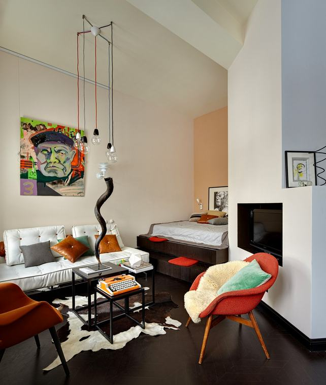small apartment ideas - functional spaces