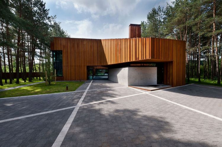Modern house in Lithuania by Studija Archispektras - 4