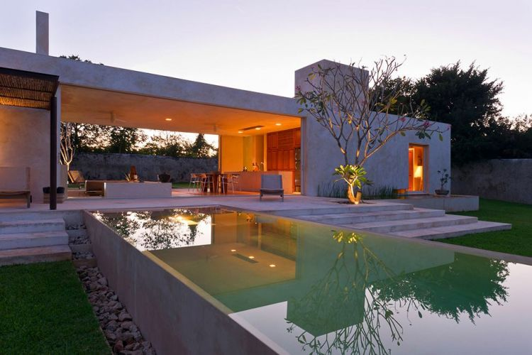 Stone house in Mexico - Hacienda Sac Chich - 18