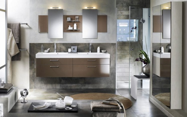 Stylish bathrooms - ideas from Delpha - 10