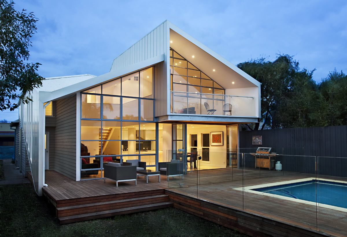 House renovation and extension in melbourne 2 modern for Home designs melbourne