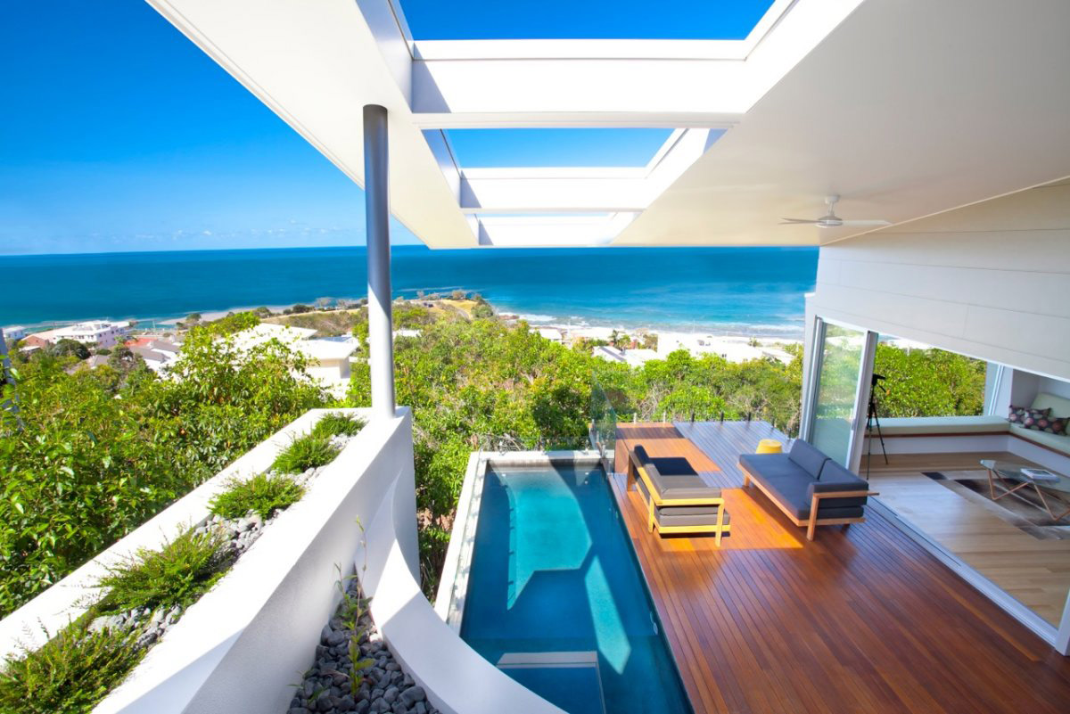 Coolum bays beach house in queensland australia 19 for Beach design
