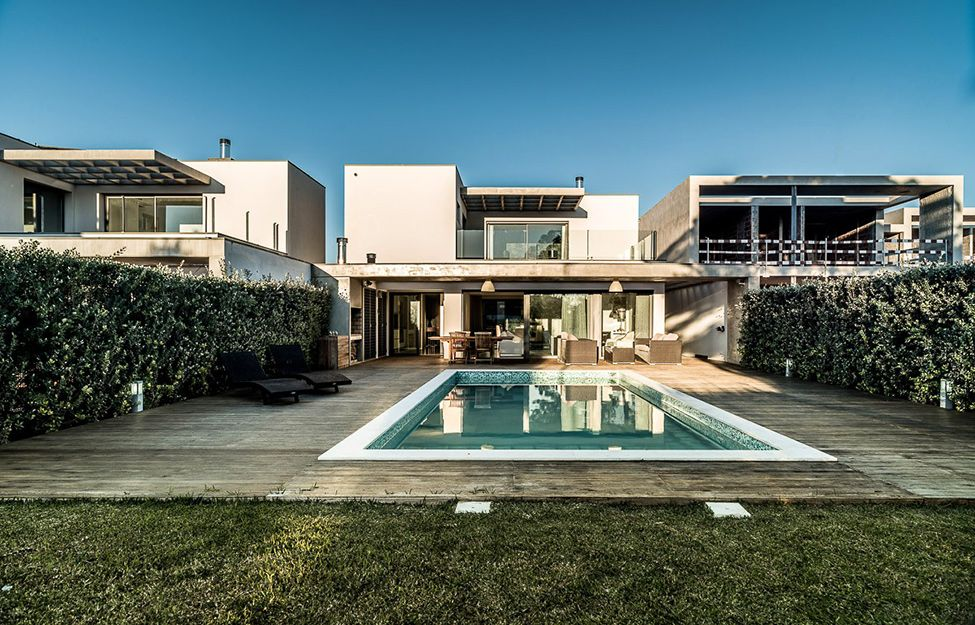 Modern Luxury Home With Pool Vilamoura House 41 Modern Home