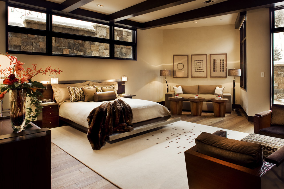 Master bedroom with natural atmosphere modern home for Bedroom ideas natural