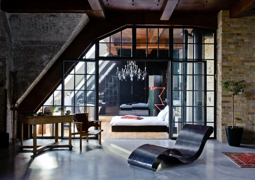 Loft Eclectic Apartment In Budapest4 Modern Home