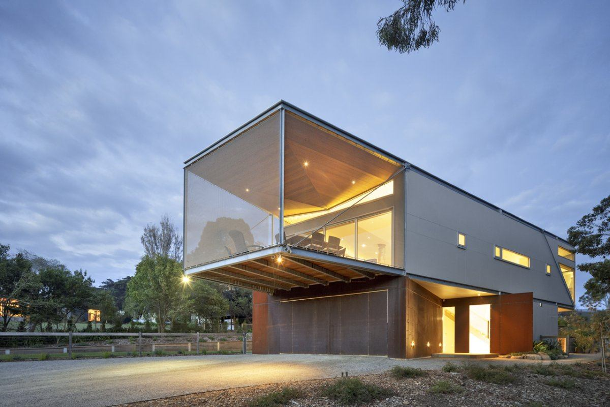 Rest house by tim spicer architects and col bandy for Holiday home designs victoria