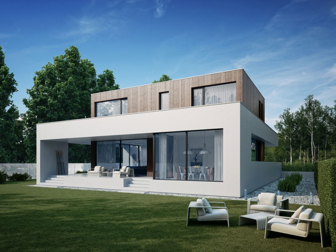 Wooden Cube House by 81.WAW.PL - Modern Home Design Ideas ...