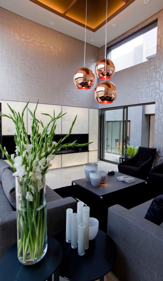 An Exquisite Mixture Of Elements House Sedibe By Nico Van Der Meulen Architects Modern Home