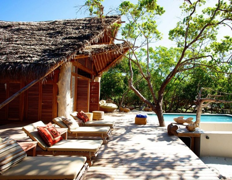 Lodge on Vamizi Island, Mozambique