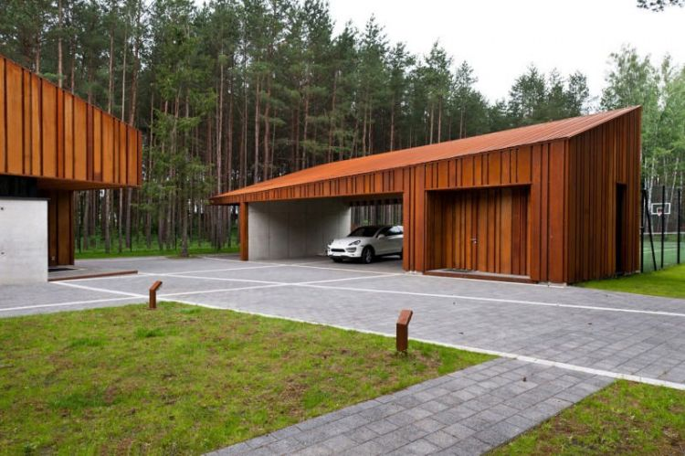 Modern house in Lithuania by Studija Archispektras - 8
