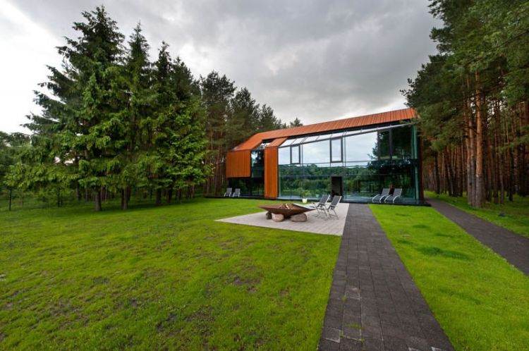 Modern house in Lithuania by Studija Archispektras - 9