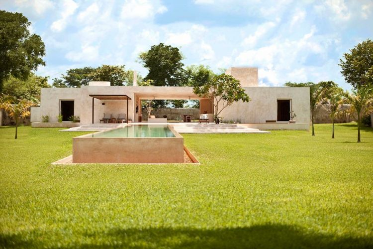 Stone house in Mexico - Hacienda Sac Chich - 1