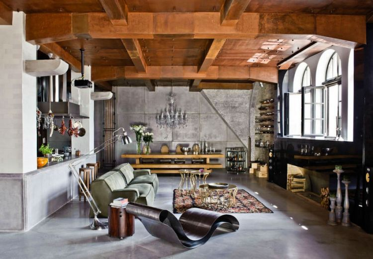 Loft - eclectic apartment in Budapest_2