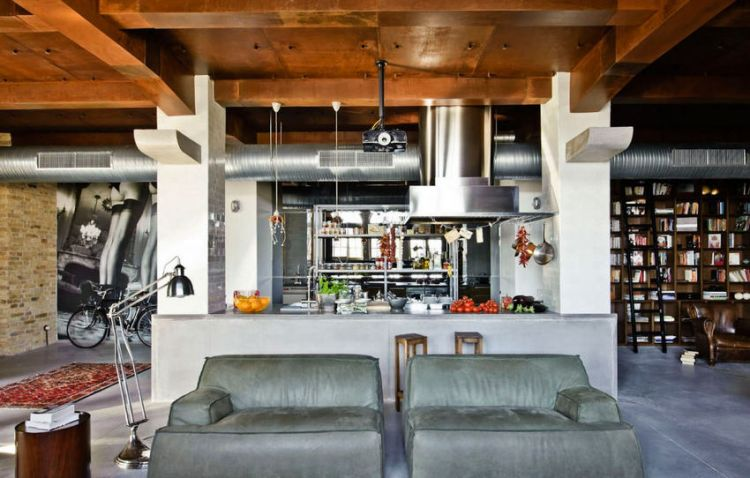 Loft - eclectic apartment in Budapest_3