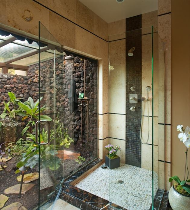 Outdoor bathroom ideas - 12