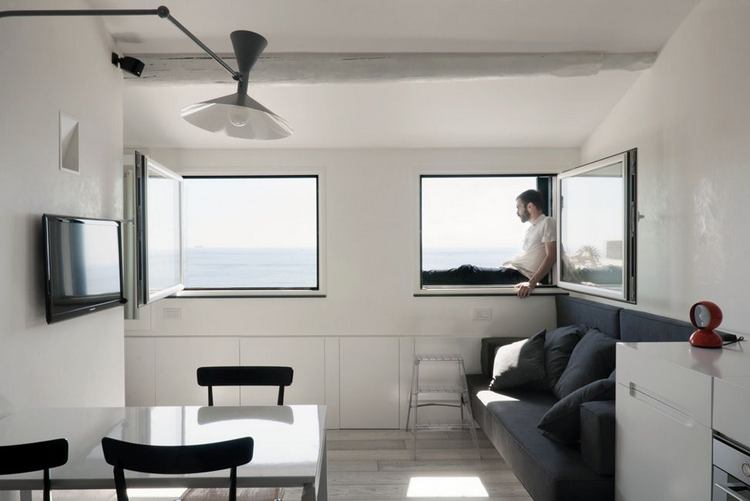 limited space creative small apartment design the harbor attic