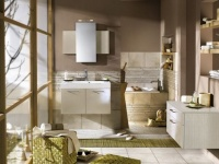 Stylish bathroom interiors from Delpha - color and design ideas